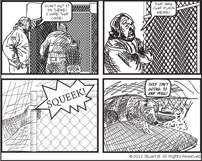 Caged Mitten