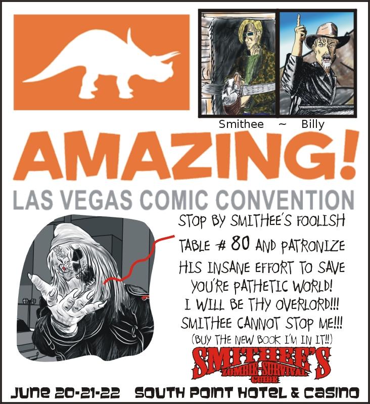 Smithee at Amazing Las Vegas Comic Con