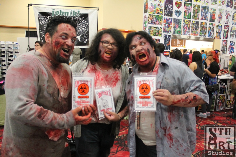 Zombie like my book!