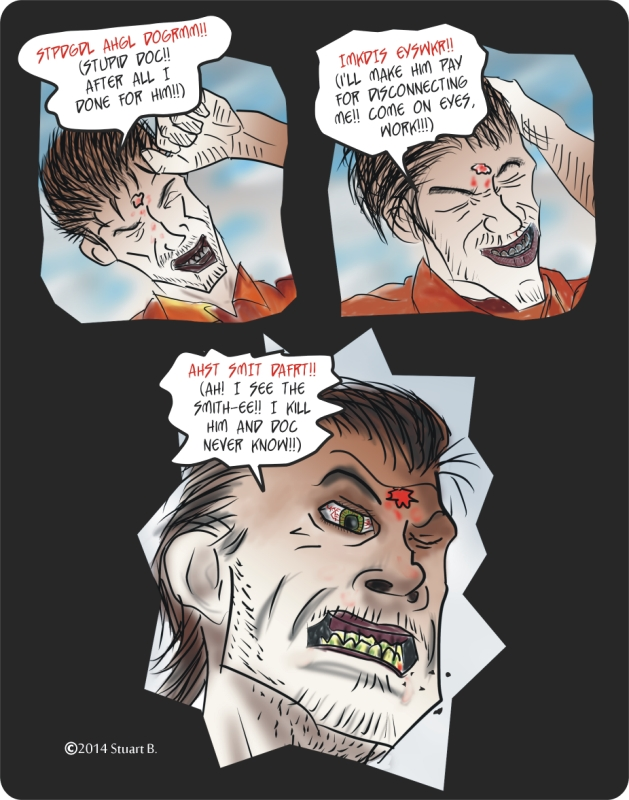 Zombie Evil Eye