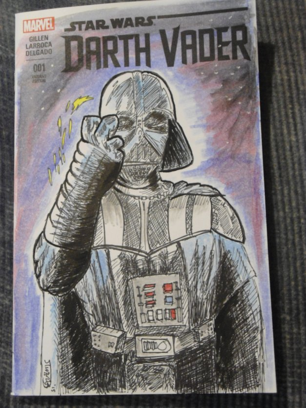 Vegas Vader Comic Book Cover